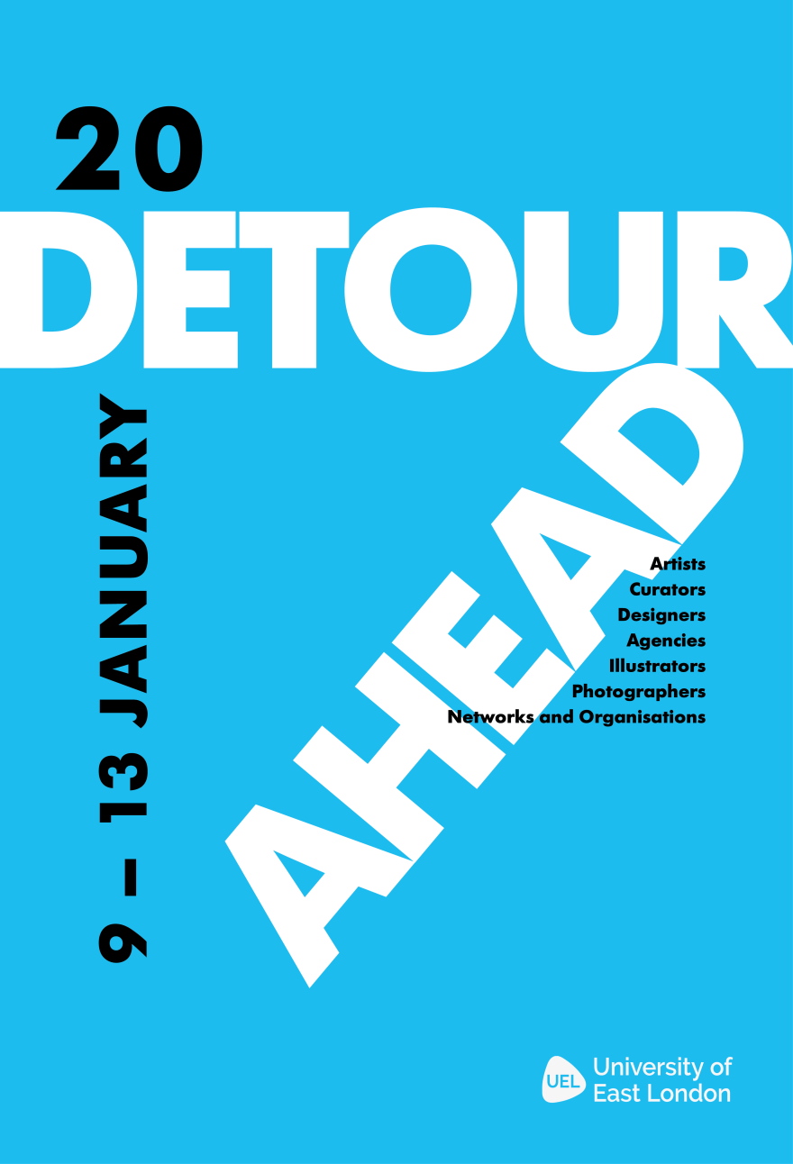 My Detour Ahead Poster A3++