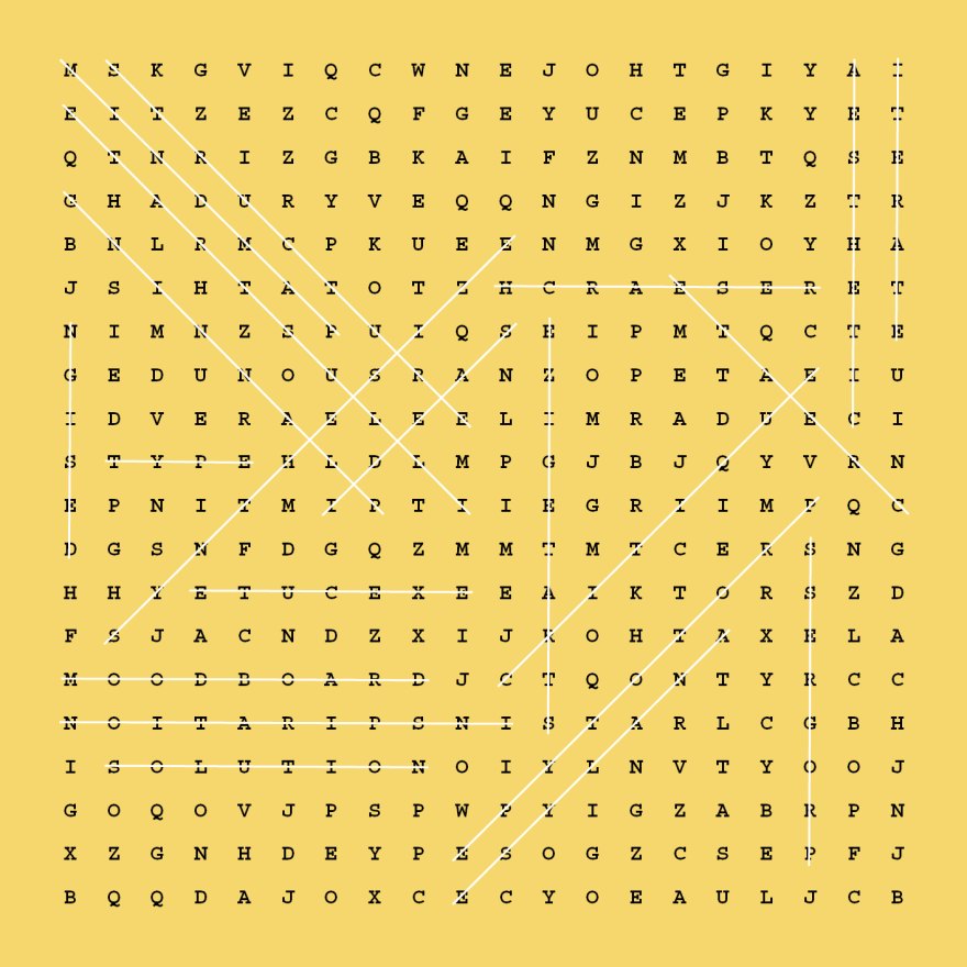 WORD SEARCH DESIGN...
