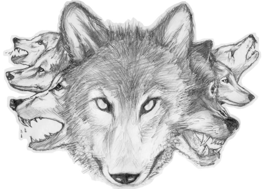 Moonlight persona. Sketch.