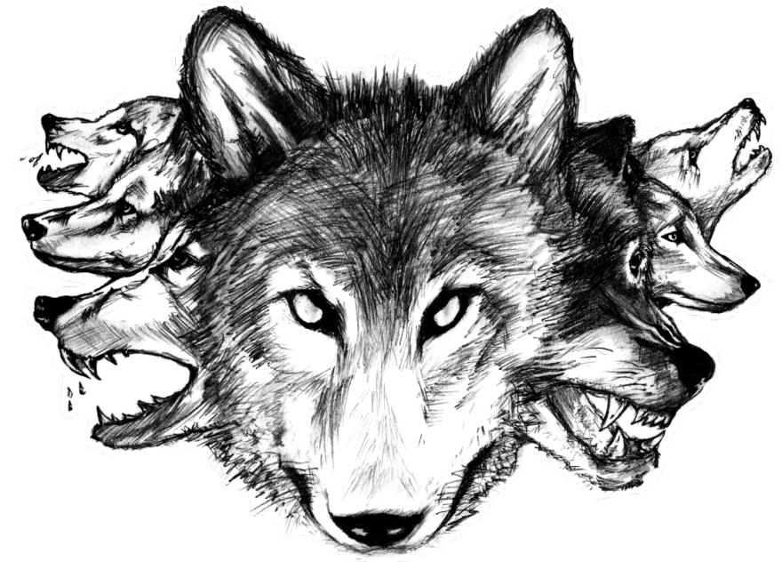 Moonlight persona. Sketch